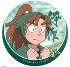 【グッズ-バッチ】忍たま乱太郎 缶バッジ/E:善法寺伊作