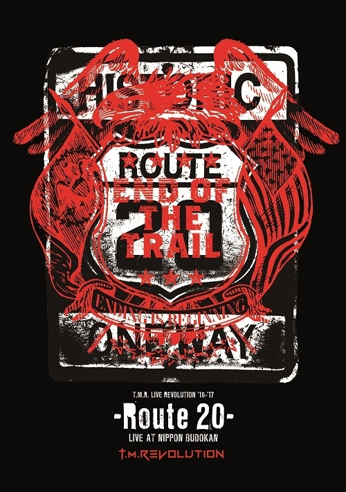 900【DVD】T.M.Revolution/T.M.R. LIVE REVOLUTION'16-'17 -Route 20- LIVE AT NIPPON BUDOKAN 初回生産限定版