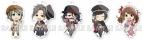 【グッズ-キーホルダー】えふぉるめ アイドルマスター SideM キメっ!とアクリルボールチェーン 「レトロ喫茶歌謡」