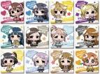 【グッズ-バッチ】ミニッチュ アイドルマスター ミリオンライブ! トレーディングスクエア缶バッジコレクション B