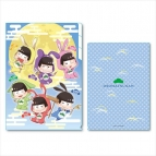 【グッズ-クリアファイル】おそ松さん ぷかっしゅクリアファイル 3ポケット 月見バージョン/B