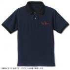 【グッズ-Tシャツ】IS<インフィニット・ストラトス> 黒ウサギ隊 刺繍ポロシャツ NAVY×BLACK L