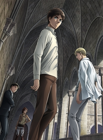 900【Blu-ray】※送料無料※TV 進撃の巨人 Season 2 Vol.2