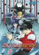 900【DVD】TV 赤い光弾ジリオン DVD-BOX1
