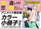 【コミック】思い違いが恋の種 アニメイト限定版【小冊子付き】
