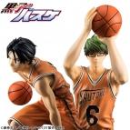 【フィギュア】黒子のバスケフィギュアシリーズ 黒子のバスケ 緑間&高尾セット 完成品フィギュア
