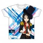 【グッズ-Tシャツ】けいおん! 全面フルカラープリントTシャツ 澪 XL