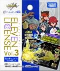 【グッズ-カード】イナズマイレブン イレブンライセンス Vol.3(仮)