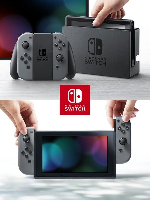 【NS】Nintendo Switch Joy-Con (L)/(R)グレー