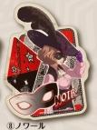 【グッズ-ステッカー】ペルソナ5 トラベルステッカー (8)ノワール