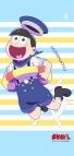 【グッズ-タペストリー】おそ松さん 描き下ろし マリンセーラー松ミニタペストリー 十四松
