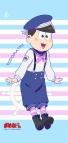 【グッズ-タペストリー】おそ松さん 描き下ろし マリンセーラー松ミニタペストリー トド松