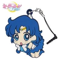 900【グッズ-ストラップ】美少女戦士セーラームーンCrystal セーラーマーキュリー つままれストラップ
