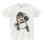 【グッズ-Tシャツ】逢田梨香子のまるごとりかこ 大川ぶくぶ先生イラストTシャツ XL