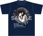 【グッズ-Tシャツ】物語シリーズ Tシャツ 猫物語(黒)