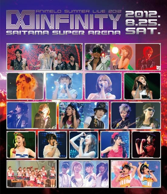 900【Blu-ray】Animelo Summer Live 2012 -INFINITY⧜- 8.25