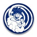 【グッズ-皿】ドラゴンボールZ 陶磁器絵皿(セラミックプレート) 1.孫悟空