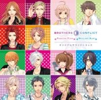 900【サウンドトラック】PSP版 BROTHERS CONFLICT Passion Pink&Brilliant Blue オリジナルサウンドトラック