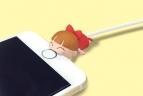 【グッズ-携帯グッズ】ゆる~いゲゲゲの鬼太郎 CABLE BITE02 ねこ娘