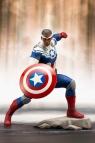 【アクションフィギュア】アベンジャーズ MARVEL UNIVERSE ARTFX+ キャプテン・アメリカ(サム・ウィルソン)