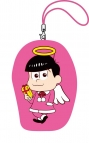 【グッズ-ポーチ】おそ松さん ポージングミニがまぐち クリスマスver./F トド松