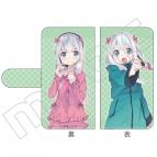 【グッズ-カバーホルダー】電撃祭(原作版) 手帳型スマホケース A:エロマンガ先生