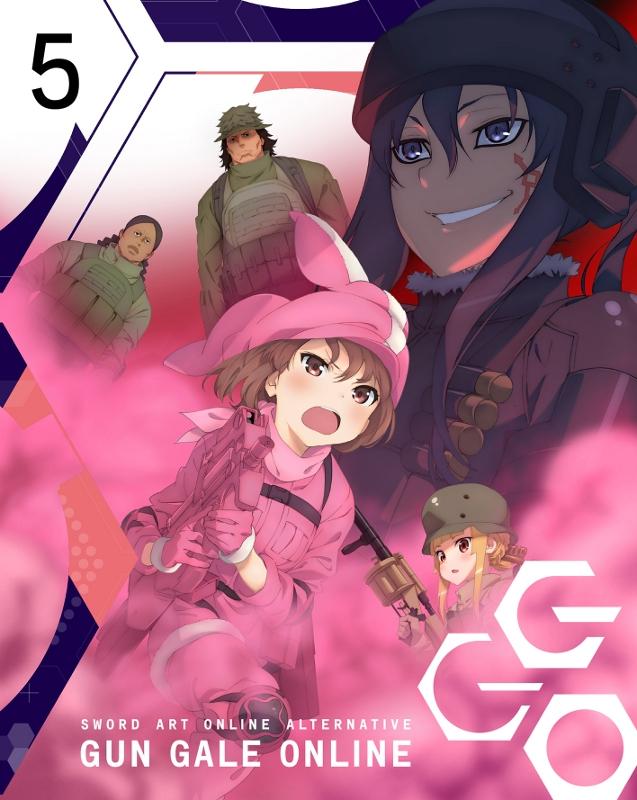 【Blu-ray】TV ソードアート・オンライン オルタナティブ ガンゲイル・オンライン 5 完全生産限定版