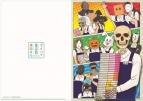 【グッズ-クリアファイル】ガイコツ書店員 本田さん キービジュアル A4クリアファイル