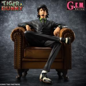 """【フィギュア】G.E.M.シリーズ TIGER & BUNNY """"S.O.C"""" 鏑木・T・虎徹"""