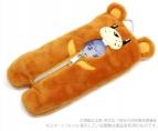 【グッズ-携帯グッズ】NEW GAME! クマさん寝袋スマホポーチ