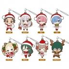 【グッズ-ストラップ】Re:ゼロから始める異世界生活 トレーディングラバーストラップ ~クリスマスver.~