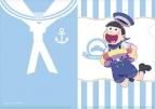 【グッズ-クリアファイル】おそ松さん 【描き下ろし】マリンセーラークリアファイル 十四松