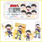 【グッズ-電化製品】おそ松さんオリジナル活動量計(ちびキャラ) 十四松セット