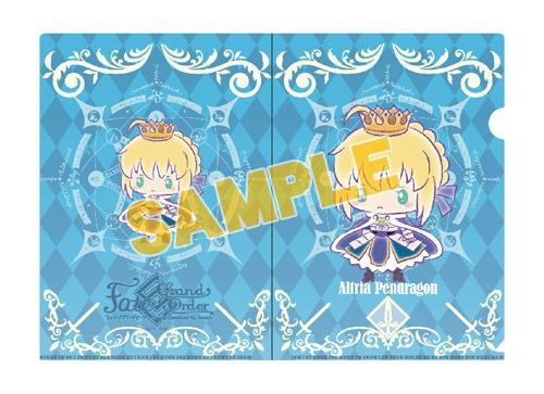 【グッズ-クリアファイル】特価 Fate/Grand Order 【Design produced by Sanrio】A4クリアファイル アルトリア・ペンドラゴン