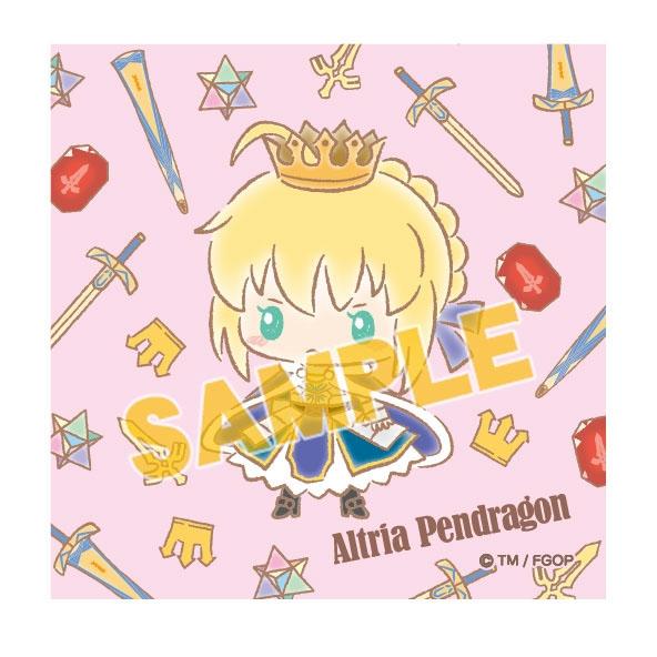 【グッズ-タオル】特価 Fate/Grand Order 【Design produced by Sanrio】ミニハンドタオル アルトリア・ペンドラゴン