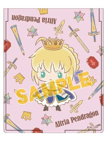 【グッズ-ミラー】特価 Fate/Grand Order 【Design produced by Sanrio】折り畳みミラー アルトリア・ペンドラゴン