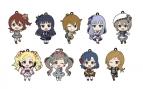 【グッズ-ストラップ】アイドルマスター ミリオンライブ! ラバーストラップコレクション
