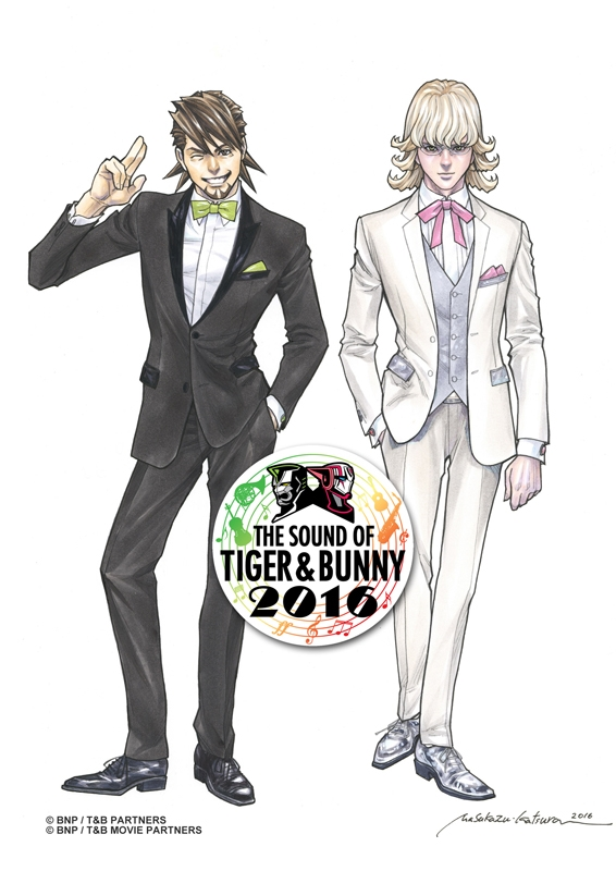 THE SOUND OF TIGER & BUNNY 2016 アニメ・キャラクターグッズ新作情報・予約開始速報