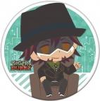 【グッズ-バッチ】chipicco TIGER & BUNNY 缶バッジ「鏑木・T・虎徹」インタビューVer.