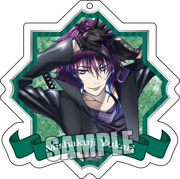 K RETURN OF KINGS アクリルキーホルダー 御芍神 紫