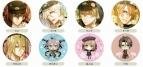 【グッズ-バッチ】オトメイトプレミアム缶バッジコレクション AMNESIA vol.1