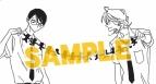 【スタンプ】中村明日美子先生 スタンプ 【『同級生』シリーズ原画展 卒業式 会場販売グッズ】