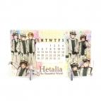 【カレンダー】ヘタリア The Beautiful World アクリル万年カレンダー