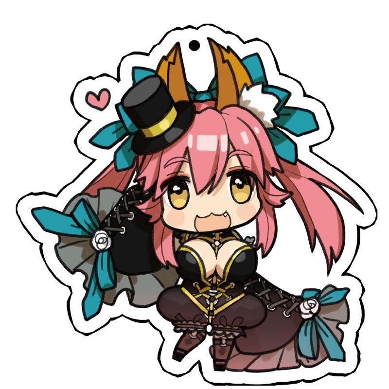 Fate/EXTRA CCC アクリルストラップ キャスター