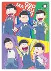 【グッズ-パスケース】おそ松さん 合皮パスケース オーバーオール松ver.