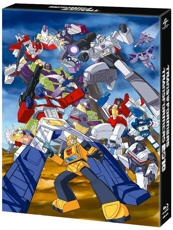 【Blu-ray】TV 戦え!超ロボット生命体トランスフォーマー&2010 ダブル Blu-ray SET 期間限定生産