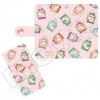 【グッズ-カバーホルダー】オトメイト オトメイトヒロインコレクションPerfume 手帳型スマホケース