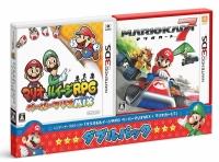 アニメイトオンラインショップ900【3DS】マリオ&ルイージRPG ペーパーマリオMIX・マリオカート7 ダブルパック