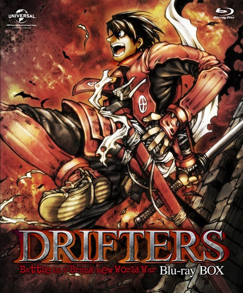 900【Blu-ray】※送料無料※TV DRIFTERS Blu-ray BOX 特装限定生産
