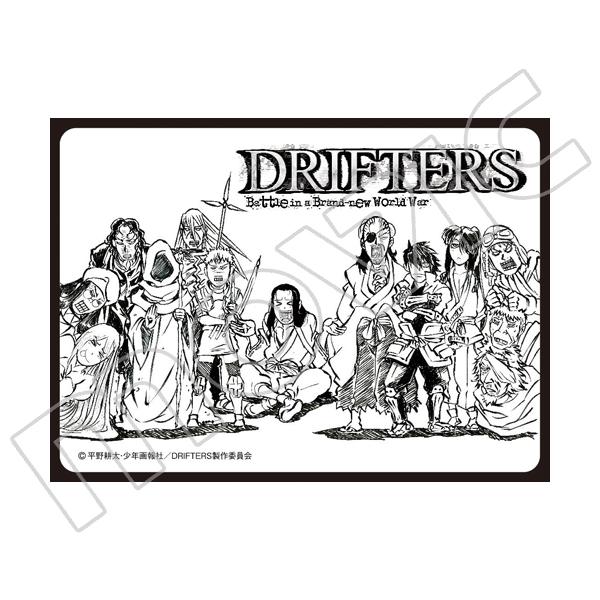 きゃらスリーブコレクション マットシリーズ ドリフターズ/DRIFTERS(No.MT301)